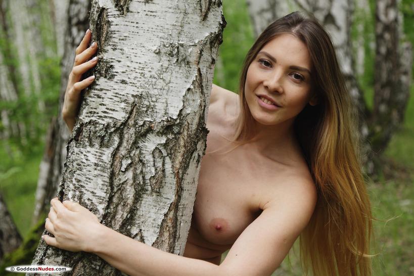 Ukrainian Babe Milena D Hairy Cutie