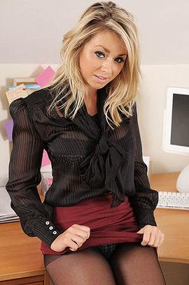 Hot Busty Secretary