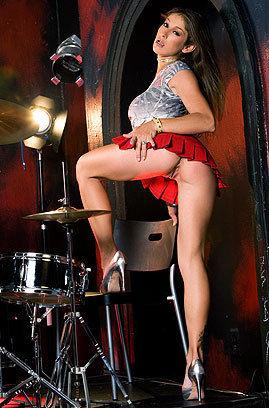 Hot Naked Drummer