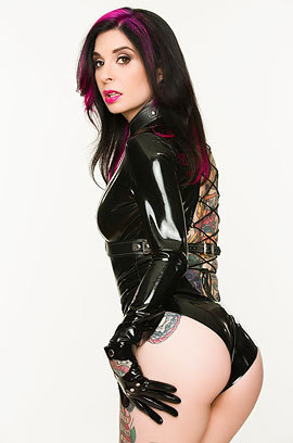 Joanna Angel In Latex And Leather
