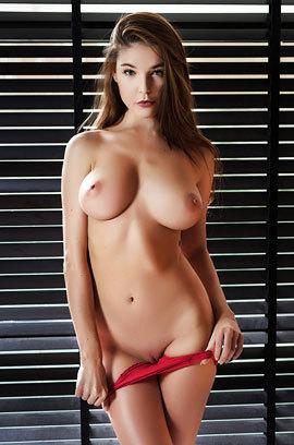Busty Brunette Loraine