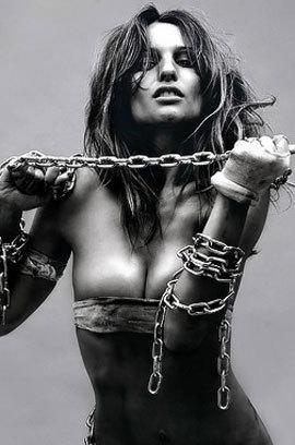 Carolina Ardohain In Erotic Art Pics