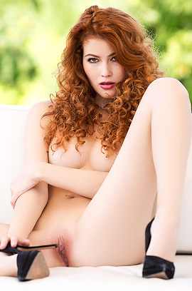Curly Redhead Heidi Romanova