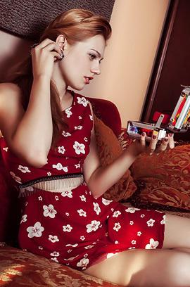 Shirley Tate Redhead Hottie