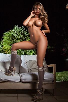 Busty Dana In Night Dream Strippiing