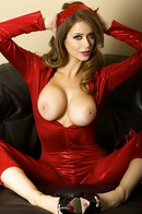 Emily Addison As Red Hot Devil