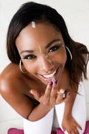 Ebony Beauty Chanell Heart Gives A Hot Blowjob