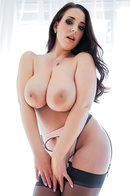 Huge Boobed Pornstar In Stockings