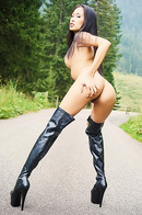 Danika Is Hitching In Boots