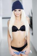 Pretty Blonde Teen Strips